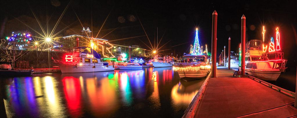 st helens pano christmas ships parade tags 2017 christmasshipsparade columbiariver december