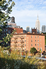 Highline views (marin.tomic) Tags: nyc usa newyorkcity newyork city urban america highline meatpackingdistrict empirestatebuilding highrise skyscraper cityscape nikon d90 summer holiday vacation