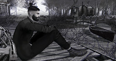 Gypsy Blood (MATTY // *OMG*) Tags: sl secondlife men male blog mens style outfit clothes clothing mesh new boots lenox tmd themensdept event stylish wear blankline jacket coat hair beard mf manbun exclusive rkkn lotd look males gypsy autumn