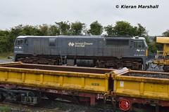 076 at Portarlington, 22/9/18 (hurricanemk1c) Tags: railways railway train trains irish rail irishrail iarnród éireann iarnródéireann 2018 generalmotors gm emd 071 076 portarlington