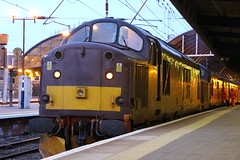 37516 37676 (Rob390029) Tags: wcrc west coast railway company class 37 37516 37676 newcastle central station ncl