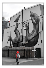 LONDON STREET ART by ROA (Mark Charnock Street Art Photo) Tags: roa streetart londonstreetart urbanart graffiti