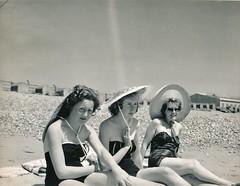 South Coast of England. c 1958 (stuartjames5) Tags: 1958 vintageseaside