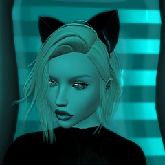 Adore the space kitten (Jaina Moonwall) Tags: foxy kustom9 maitreya lara laq neve lumae mayfly fashion secondlife sl second life