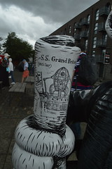 Plans for the S.S Grand Britain (CoasterMadMatt) Tags: gromitunleashed2 gromitunleashed gromitunleashed2018 gromit unleashed 2 gromitunleashedtrail trail wallaceandgromit wallacegromit wallace aardman figures statues exhibition publicartexhibition public art artworks thegrandappeal grandappeal grand appeal charity sculptures sculpture model models wallaces wallacesculptures wallacemodels no31 number31 no number 31 wallambard timminess isambardkingdombrunel harboursidetrail bristol2018 bristol ssgreatbritain ss cityofbristol city cities southwestengland southwest england britain greatbritain great gb unitedkingdom united kingdom uk europe july2018 summer2018 july summer 2018 coastermadmattphotography coastermadmatt photos photographs photography nikond3200