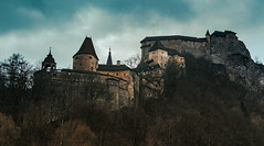 Orava castle (Panoramic) (T is for traveler) Tags: orava oravský podzámok castle medieval old epic gamesofthrones lordoftherings history nature forest travel traveler traveling tisfortraveler tourism backpacker digitalnomad photography mood moody weather rock canon 700d sigma 1750mm