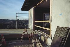 Renewal (ADMurr) Tags: la hollywood hills home construction carpentry leica m6 kodak ektar dac614 dof