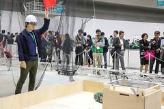 WRS-20181020145227 (Reishu Tadokoro) Tags: 2018 disasterrobotics tokyo tokyobigsight wrs worldrobotsummit2018 robots staff
