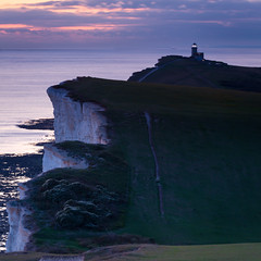 Twilight Downs (JamboEastbourne) Tags: belle tout lighthouse south downs national park beach head eastbourne east sussex england sunset sea chalk downloand