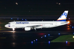 LY-VEW SunExpress (Avion Express) Airbus A320-214 (buchroeder.paul) Tags: lyvew sunexpress avion express airbus a320214 dus eddl dusseldorf international airport germany europe ground night