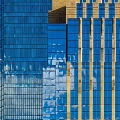Minneapolis Geometry (David M Strom) Tags: olympusem1markii skyscraper minneapolis reflections architecture minimal windows olympus40150 abstract davidstrom