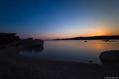 Dans le golfe de Figari-008 (bonacherajf) Tags: corse corsica figari pianottoli golfe plage beach sunset coucherdesoleil poselongue heurebleue bluehour