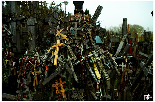 Under the weight of the crosses