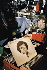 Neil Diamond. (romy_clair) Tags: flea amrket market melbourne australia victoria film analigie analogue amateur colour portrait 35mm minolta kodak 400iso