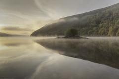 Morning (MarkWaidson) Tags: lake morning island sunrise peaceful waidson