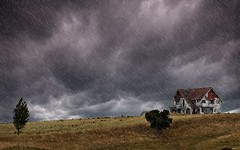 HauntedHouse (dave.fergy) Tags: clouds landscape location sky wairarapa storm composite layers house weather period rustic