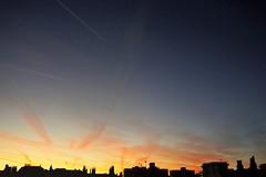 Monday Morning (Ms. Bexy) Tags: sunrise sky urban england autumn