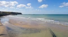 Sommertag / A Summers Day # 2 (schreibtnix on 'n off) Tags: reisen travelling frankreich france normandie arromanchelesbains strand beach himmel sky sommertag asummersday olympuse5 schreibtnix
