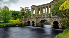 The Palladian Bridge, Wilton House (cantdoworse) Tags: wilton house salisbury the palladian bridge canon 6d wiltshire england
