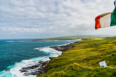 You are in Ireland (*Capture the Moment*) Tags: 2018 cliffsofmohercoastalwalk clouds elemente farbdominanz hike hiking himmel holiday ireland irland june landscape landschaft landschaften sky sonne sonya6300 sonye18200mmoss sonyilce6300 sun trip wanderung wasser water wetter wolken cloudy green grün wolkig
