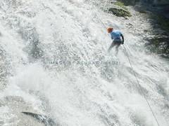 Waterfall Abseiling (Ashraf.Rafdzi) Tags: waterfall abseiling cascading fujifilm x20 extremesports adventure outdoor natgeo nationalgeographic nature challenging