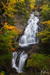 Crystal Cascade - Pinkham Notch, NH (Reid Northrup) Tags: crystalcascade waterfall water longexposure river rocks autumn fall reidnorthrup nikon nature newhampshire cutlerriver pinkhamnotch rrs landscape whitemountains