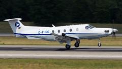 Pilatus PC-12/47E D-FHRG Hahn Air (William Musculus) Tags: airport spotting basel mulhouse freiburg bsl eap mlh lfsb euroairport flughafen pilatus pc1247e dfhrg hahn air pc12
