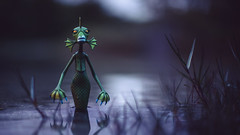 From the Depths (3rd-Rate Photography) Tags: underseagal nightmarebeforechristmas creature diamondselect toy toyphotography water river actionfigure figure canon 50mm 5dmarkiii portorange florida 3rdratephotography earlware 365 timburton monster