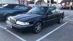 (Sam Tait) Tags: rover 820 820i vitesse sterling saloon coupe petrol blue 1997 20 16v 200bhp classic car retro rare spot spotting tesco