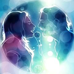 Daily #Art - Day 10-21-18 (hinxlinx) Tags: lady gaga bradley cooper star born movie singers musicians ally jackson maine