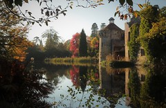 Scotney Castle (Henry Hemming) Tags: lamberhurst castle kent garden england uk historic house stately home ruin beauty tree building photo person moat lake reflections autumn