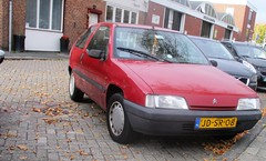 1994 Citroen ZX 1.4i Image (occama) Tags: jdsr08 1994 citroen zx 14i old car red french holland netherlands