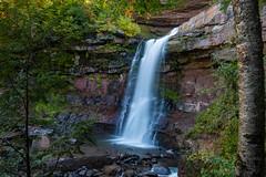 October Morning at Kaaterskill (jeffseverson) Tags: catskills greenecounty kaaterskillfalls waterfall stream creek hudsonvalley upstateny newyork