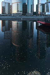 QWZ04247 (qwz) Tags: skyscraper москва moscow architecture river reflection