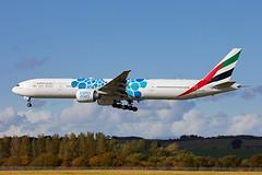 ALAN_POTTS_20181014_MG_3460 (Alan Potts) Tags: edinburghairport edi egph turnhouse aircraft scotland aviation alanpotts a6egb boeing77731her b773 emiratesairlines expo2020 expo2020blue إكسبو٢٠٢٠ طَيَرانالإمارات jet civil passengerjet passengerplane edinburgh midlothian uk gbr specialscheme