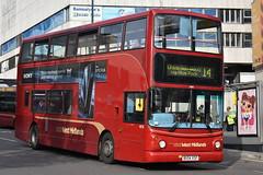 'National Express West Midlands' Transbus Trident 2 '4618' (BX54 XSF) (K.L.Jenkins) Tags: nationalexpress westmidlands transbus trident 2 4618 bx54xsf nxwm prioryqueensway birmingham