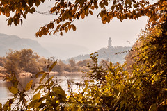 River - 11 Oct 2018 - 59-Edit-2.jpg (ibriphotos) Tags: autumn grey river stirlingcastle cloud stirling riverforth trees leaves weather dreich gray cloudappreciation cloudporn clouds skyporn