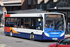 SY 36447 @ New Beetwell Street/coach station, Chesterfield (ianjpoole) Tags: stagecoach yorkshire alexander dennis enviro 200 yn61fxt 36447 working route 74 new beetwell street chesterfield the duckmanton hotel