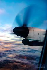 ENJOYING AN EASTSIDE SUNSET FROM A Q400 AT 6,503.5 FEET (AvgeekJoe) Tags: iflyalaska aerialphotograph alaskaair alaskaairlines bombardierdhc8402q bombardierdash8400 bombardierdash8q402 bombardierq400 d5300 dhc8402q dslr dash8 dehavillandcanadadhc8402qdash8 dowtyr408 dowtyr408propeller horizonair n430qx nikon nikond5300 propdisk propeller propliners q400 r408 tamron18400mm tamron18400mmf3563diiivchld aerial aerialphoto aerialphotography aircraft airplane aviation plane propblur propliner turboprop