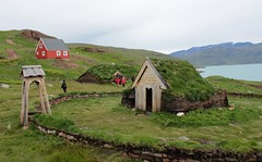 Viking Greenland reconstructed (gordontour) Tags: experimentalarchaeology recreation norse viking greenland qassiarsuk history heritage tourism museum turf dwellings