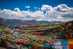 Prayer Flags, Tibet (CamelKW) Tags: tibet2018 shigatse tibet china cn prayerflags
