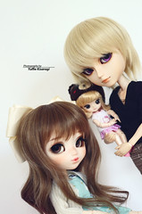 """Say cheese!"" (·Yuffie Kisaragi·) Tags: doll dolls pullip wind custom yuzuaesthetics nayame taeyang mio meilachan adam obitsu rewigged rechipped"