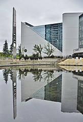 Albert Campbell Square, Scarborough Civic Centre, 150 Borough Drive, Scarborough, Toronto, ON (Snuffy) Tags: albertcampbellsquare scarboroughciviccentre 150boroughdrive scarborough toronto ontario canada