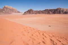Jordan - Alone in the Desert (marcosorrentino.arch) Tags: desert deserto jordan giordania sole stelle stars beduin petra people street old wadi rum nomad sky