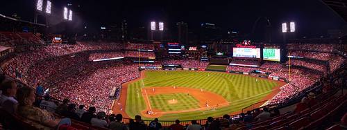 Cardinals vs Cubs 2017 Panoramic