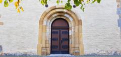 - church door - (Jac Hardyy) Tags: church door old fitting fittings romanesque sandstone tür kirche kirchentür beschlag beschläge metall metal sandstein romanisch