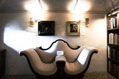 Sofa (Bryan Appleyard) Tags: sofa light books vicenza chiericati palladio italy furniture lamps