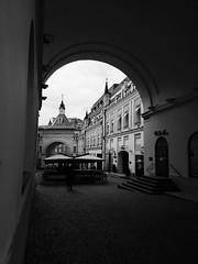 Moscow (msergeevna) Tags: bw monochrome building prestigio