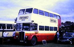 Slide 122-95 (Steve Guess) Tags: southendonsea essex england gb uk bus rally matchbox rt aec regent london transport
