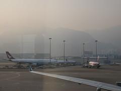 Hong Kong International Airport (CR1 Ford LTD) Tags: hongkong cheklapkok hongkongairport hongkonginternationalairport airport cathaydragon